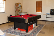Dining and pool room - Mens living quarters